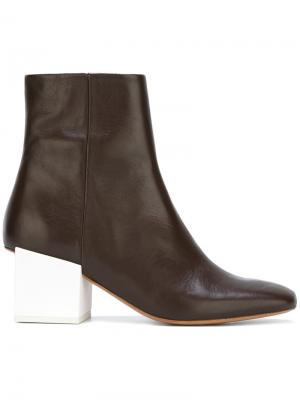Chunky heel ankle boots Jacquemus. Цвет: коричневый