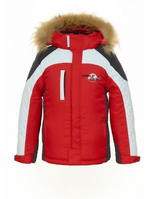 Куртка AVESE. Цвет: красный
