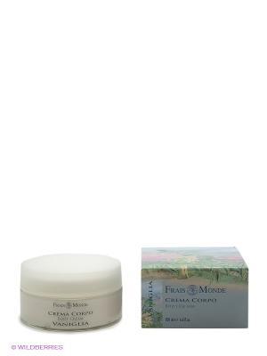 Крем для тела с ароматом ванили Frais Monde. Цвет: белый