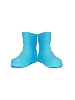 Резиновые сапоги Tilla TKV-2102-FL16/Голубой