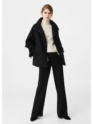 Пальто - LAZO Mango. Цвет: черный