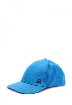 Бейсболка United Colors of Benetton. Цвет: голубой