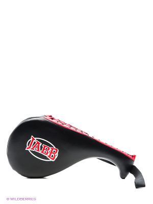 Лапа боксерская двойная JE-2799 Jabb. Цвет: черный, антрацитовый, красный