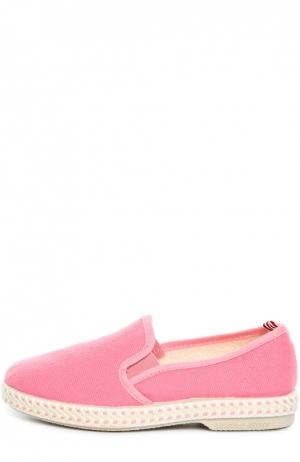 Эспадрильи Rivieras Leisure Shoes. Цвет: розовый
