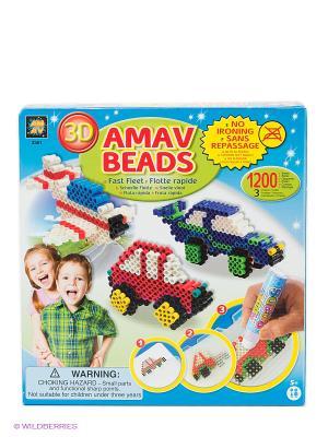 Набор Транспорт AMAV. Цвет: синий, зеленый, красный, белый