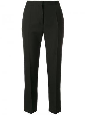 Укороченные классические брюки Haider Ackermann. Цвет: чёрный
