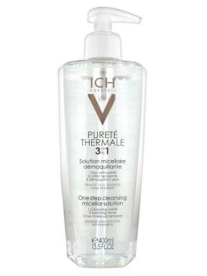 Vichy Purete Thermal, очищающие средство. Цвет: светло-зеленый