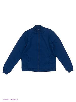 Куртка Милашка Сьюзи. Цвет: темно-синий