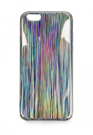 Чехол для телефона Kawaii Factory. Цвет: серебряный