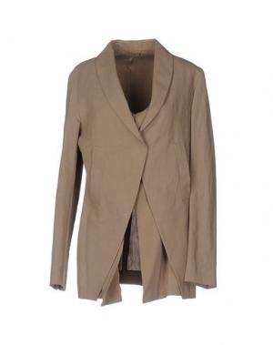 Пиджак BRUNELLO CUCINELLI. Цвет: голубиный серый