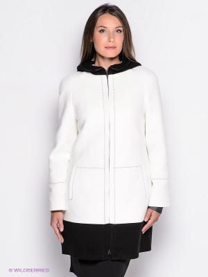 Пальто Malinardi. Цвет: белый