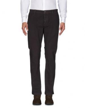 Повседневные брюки BRIAN DALES. Цвет: какао