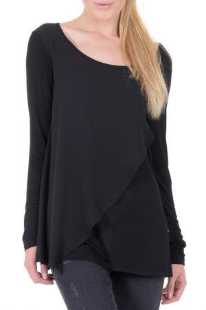 Блуза BIG STAR. Цвет: черный