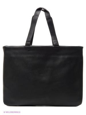Малая сумка для ноутбука Envelope (черная) Kawaii Factory. Цвет: черный