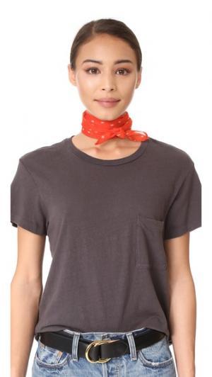 Узкий шарф со звездами Chan Luu
