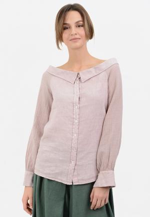 Блуза Lino Russo. Цвет: розовый