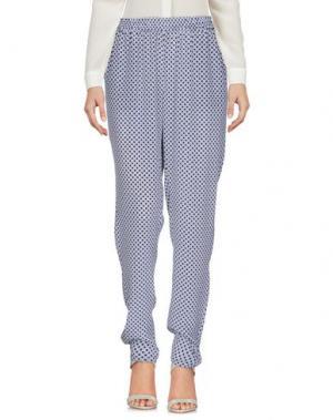 Повседневные брюки JOIE. Цвет: темно-синий