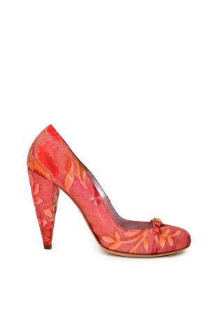 Туфли из натуральной кожи PO-191496 Gerardina Di Maggio. Цвет: красный