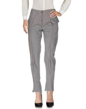 Повседневные брюки LE JEAN DE MARITHÉ + FRANÇOIS GIRBAUD. Цвет: серый