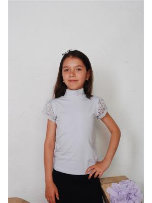 Блузка ZEBRA KIDS. Цвет: серый