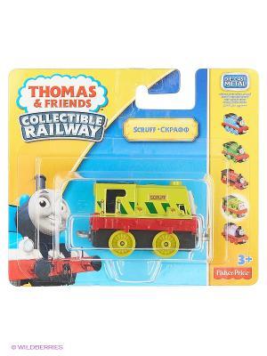 Базовый паровозик Thomas & FRIENDS. Цвет: салатовый, красный