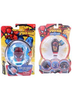 Набор Spider Man: Игрушка-фонарик в форме любимого героя + Фонарик с зажимом  Я всегда тобой Marvel. Цвет: черный, синий, красный