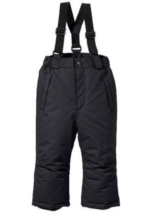 Зимние брюки. Цвет: синий, черный