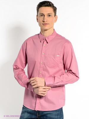 Рубашка CONVER. Цвет: розовый