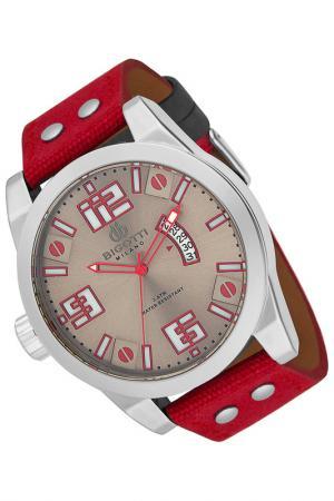 Часы BIGOTTI MILANO. Цвет: красный