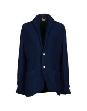 Пиджак ALAIN FRACASSÍ. Цвет: темно-синий