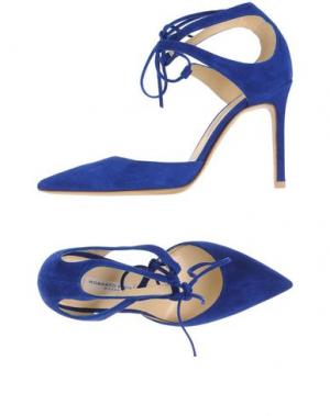 Туфли ROBERTO FESTA. Цвет: ярко-синий