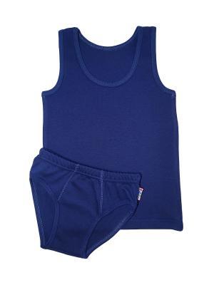 Комплект белья для мальчиков ABAI kids. Цвет: индиго
