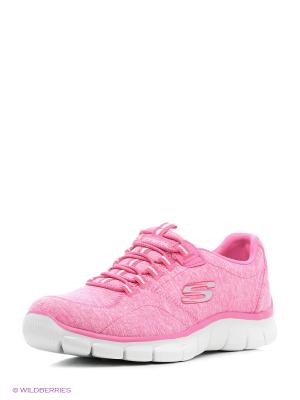 Кроссовки SKECHERS. Цвет: розовый