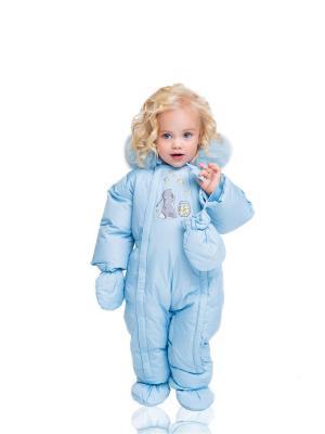 Комбинезон AVIVA kids. Цвет: голубой