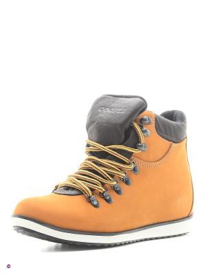Ботинки Cooper. Цвет: желтый