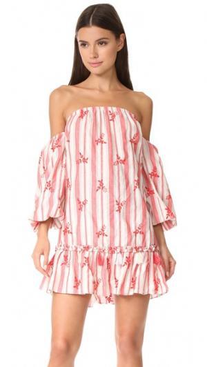 Платье Acel MISA. Цвет: fl4