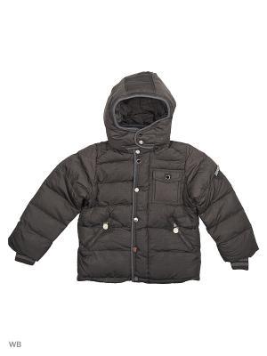 Куртка Cherche. Цвет: серый