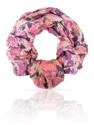 Палантин MICHEL KATANA`. Цвет: розовый, бледно-розовый, лиловый