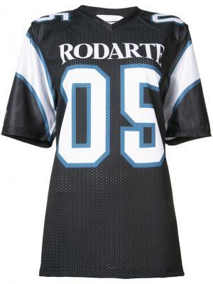 Футболка Rodarte. Цвет: чёрный