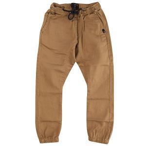 Штаны прямые детские  Fonic Elmwood Quiksilver. Цвет: коричневый