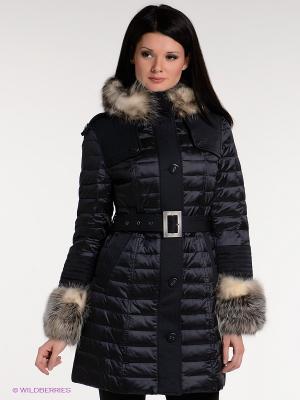 Пальто Acasta. Цвет: темно-синий