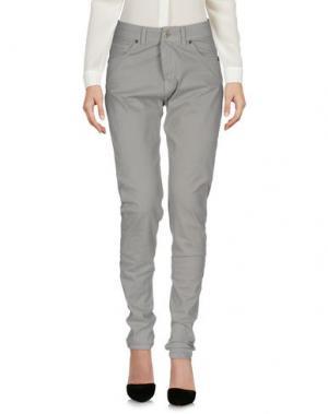 Повседневные брюки LES FILLES. Цвет: серый