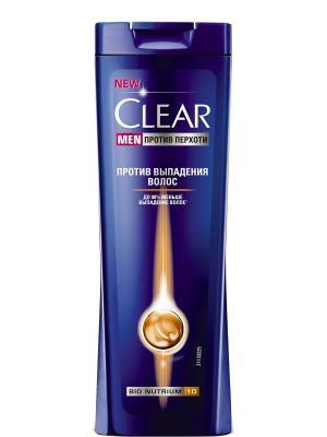 Шампунь Clear Men Против выпадения волос 400 мл. Цвет: белый