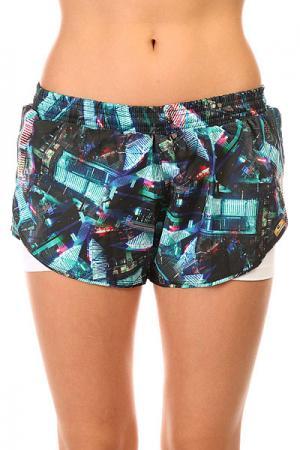 Шорты пляжные женские  Tafet6 Bus Shorts Multi CajuBrasil. Цвет: мультиколор