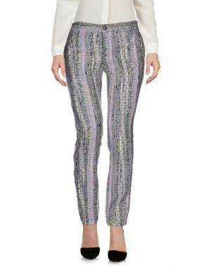 Повседневные брюки MAURIZIO MASSIMINO. Цвет: серый