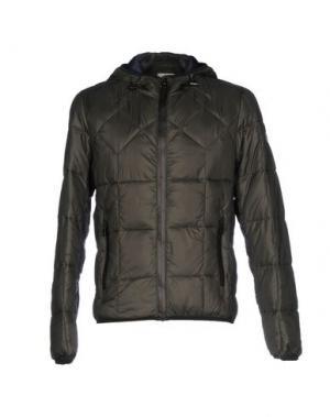Куртка YES ZEE by ESSENZA. Цвет: стальной серый