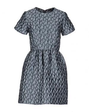 Короткое платье TARA JARMON. Цвет: серый