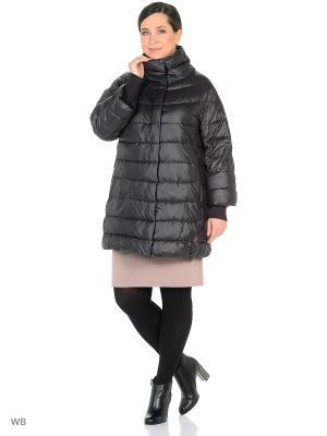 Пальто CATTAIL WILLOW. Цвет: темно-коричневый