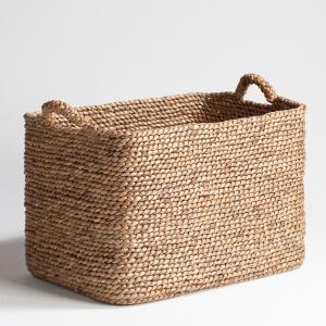 Плетеная корзина Raga прямоугольной формы AM.PM.. Цвет: серо-бежевый