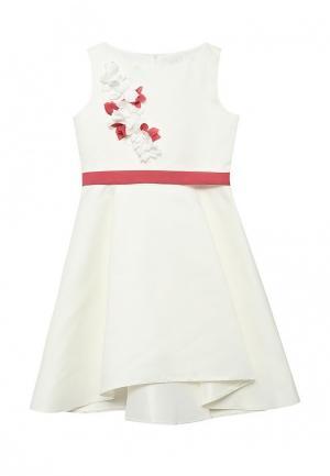 Платье Sly. Цвет: белый